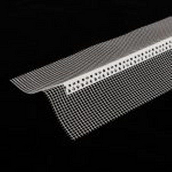 سازه پی وی سی محافظ گوشه خارجی-داخلی(مسلح به شبکه توری) PVC Pre-Meshed corner bead