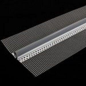 سازه پی وی سی درز انبساط آکواپنل(مسلح به شبکه توری) PVC expansion joint profile