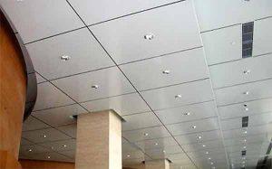 استفاده از سقف کاذب در سالن ها